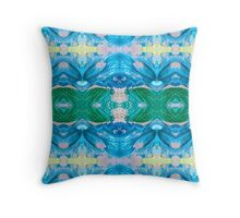 Sand and Sea 3 by Stephanie Burns Throw Pillow