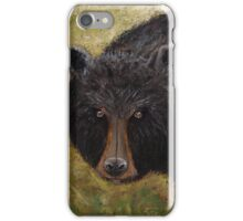 Great Smoky Mountains Black Bear Portrait iPhone Case/Skin
