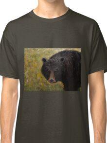 Great Smoky Mountains Black Bear Portrait Classic T-Shirt