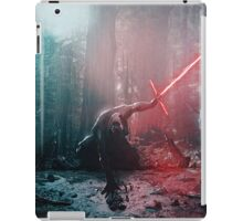 Kylo Ren and Vader's Mask Portrait iPad Case/Skin