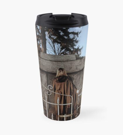 Cemetary Gates Travel Mug