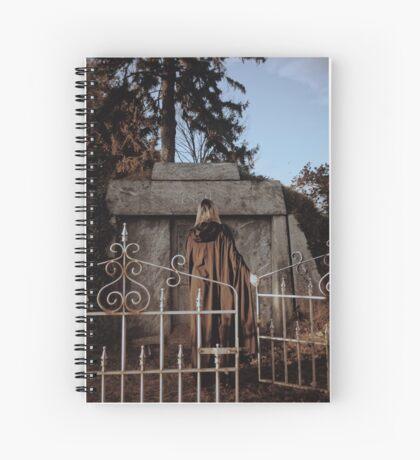Cemetary Gates Spiral Notebook