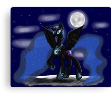 Sweet Dreams - Nightmare Moon Canvas Print