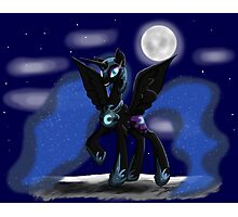 Sweet Dreams - Nightmare Moon Photographic Print