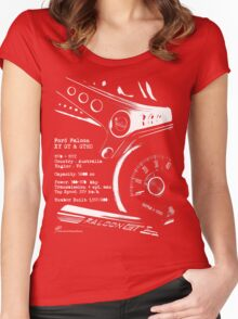 Ford Falcon XY GT & GTHO (specifications) © Women's Fitted Scoop T-Shirt