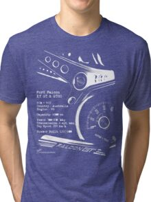 Ford Falcon XY GT & GTHO (specifications) © Tri-blend T-Shirt