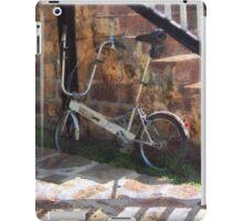 Folding Bicycle Antigua iPad Case/Skin