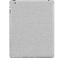Toy Story 3 [Script] iPad Case/Skin