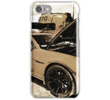 Vintage War Plane and Chevy Camaro iPhone Case/Skin