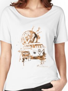 Volkswagen Kombi Splash Sepia © Women's Relaxed Fit T-Shirt