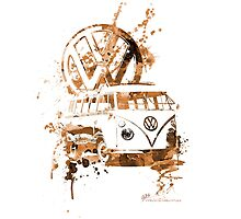 Volkswagen Kombi Splash Sepia © by BlulimeMerch