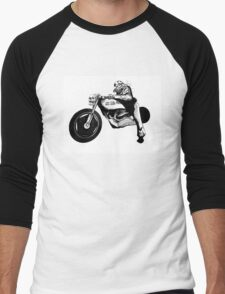 Dystopia Grand Prix Men's Baseball ¾ T-Shirt