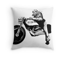 Dystopia Grand Prix Throw Pillow