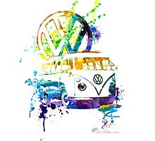 Volkswagen Kombi Splash © by BlulimeMerch