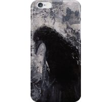 Original Gothic Crow Raven Painting  iPhone Case/Skin