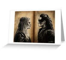 Clexa Greeting Card