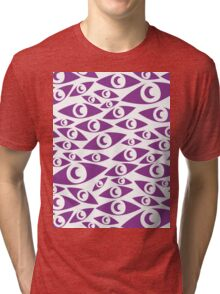 Welcome to Night Vale Eye print Tri-blend T-Shirt