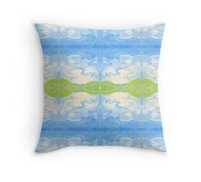 Above the Hills by Stephanie Burns Throw Pillow
