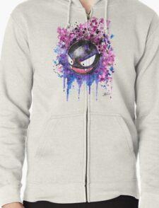 Epic Ghastly - watercolor - Street art Tshirts n more! Jonny2may Zipped Hoodie