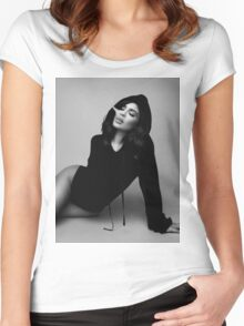 Kylie Jenner Smoke Women's Fitted Scoop T-Shirt