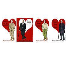 Mycroft Holmes Valentines Photographic Print