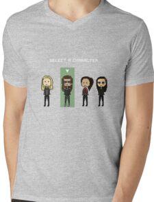 Select Lexa (x3) Mens V-Neck T-Shirt