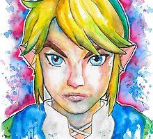 Epic Link Streetart Tshirts + More ' Legend of Zelda ' Jonny2may by Jonny2may