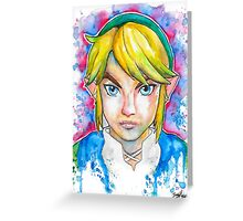 Epic Link Streetart Tshirts + More ' Legend of Zelda ' Jonny2may Greeting Card