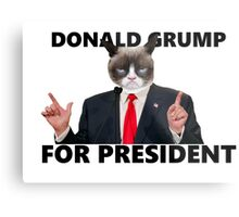 Donald Grump Metal Print
