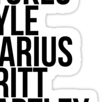 the career of one andy mientus Sticker