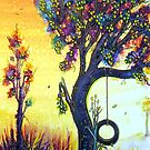 Tree Swing by Linda Callaghan