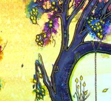 Tree Swing Sticker