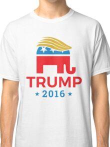 Donald Trump for President 2016 Elephant Classic T-Shirt