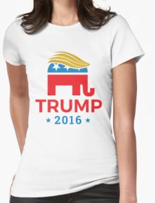 Donald Trump for President 2016 Elephant Womens Fitted T-Shirt