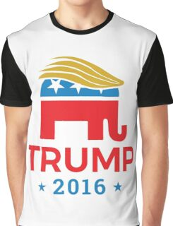 Donald Trump for President 2016 Elephant Graphic T-Shirt