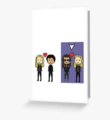Select Clexa Greeting Card