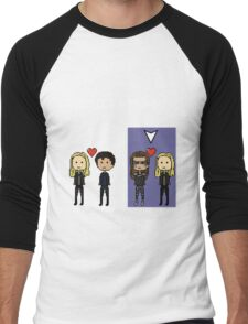 Select Clexa Men's Baseball ¾ T-Shirt