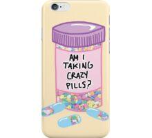 Crazy Pills Zoolander sprinkles weird pills tumblr meme print iPhone Case/Skin