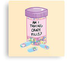 Crazy Pills Zoolander sprinkles weird pills tumblr meme print Metal Print