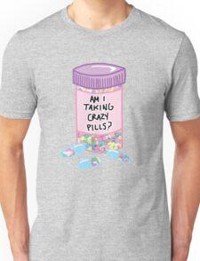 Crazy Pills Zoolander sprinkles weird pills tumblr meme print Unisex T-Shirt