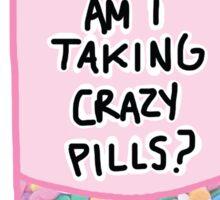 Crazy Pills Zoolander sprinkles weird pills tumblr meme print Sticker