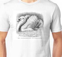 Darwin's Angry Swan Unisex T-Shirt