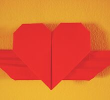 Origami Heart by AGODIPhoto