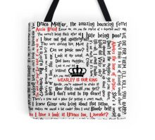 Ron Weasley Quotes Tote Bag
