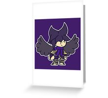 Chibi Dark Pit Greeting Card