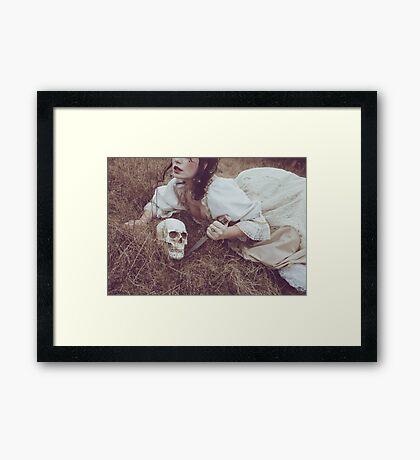 Where You Rest Framed Print