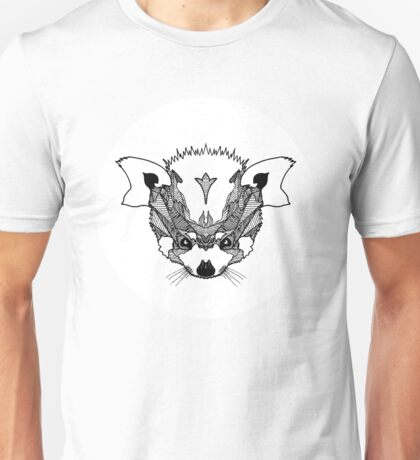 Fierce Red Panda Unisex T-Shirt