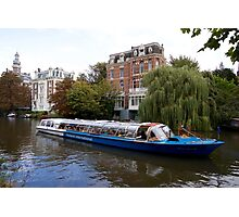 Netherlands - Amsterdam - canals - tourism Photographic Print