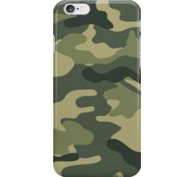 Camo khaki iPhone Case/Skin