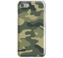 Camo khaki iPhone Case/Skin
